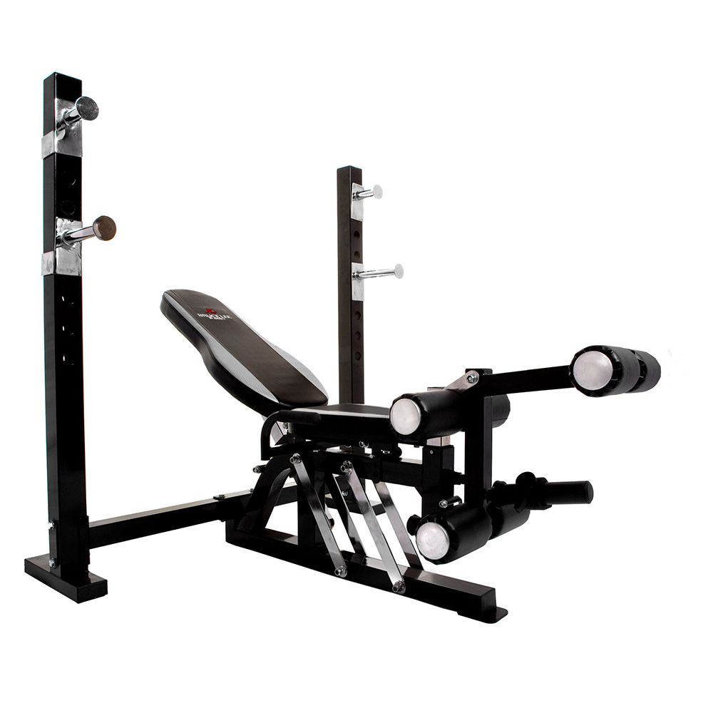 Bruce Lee Dragon Olympic Weight Bench And 140kg Cast Iron