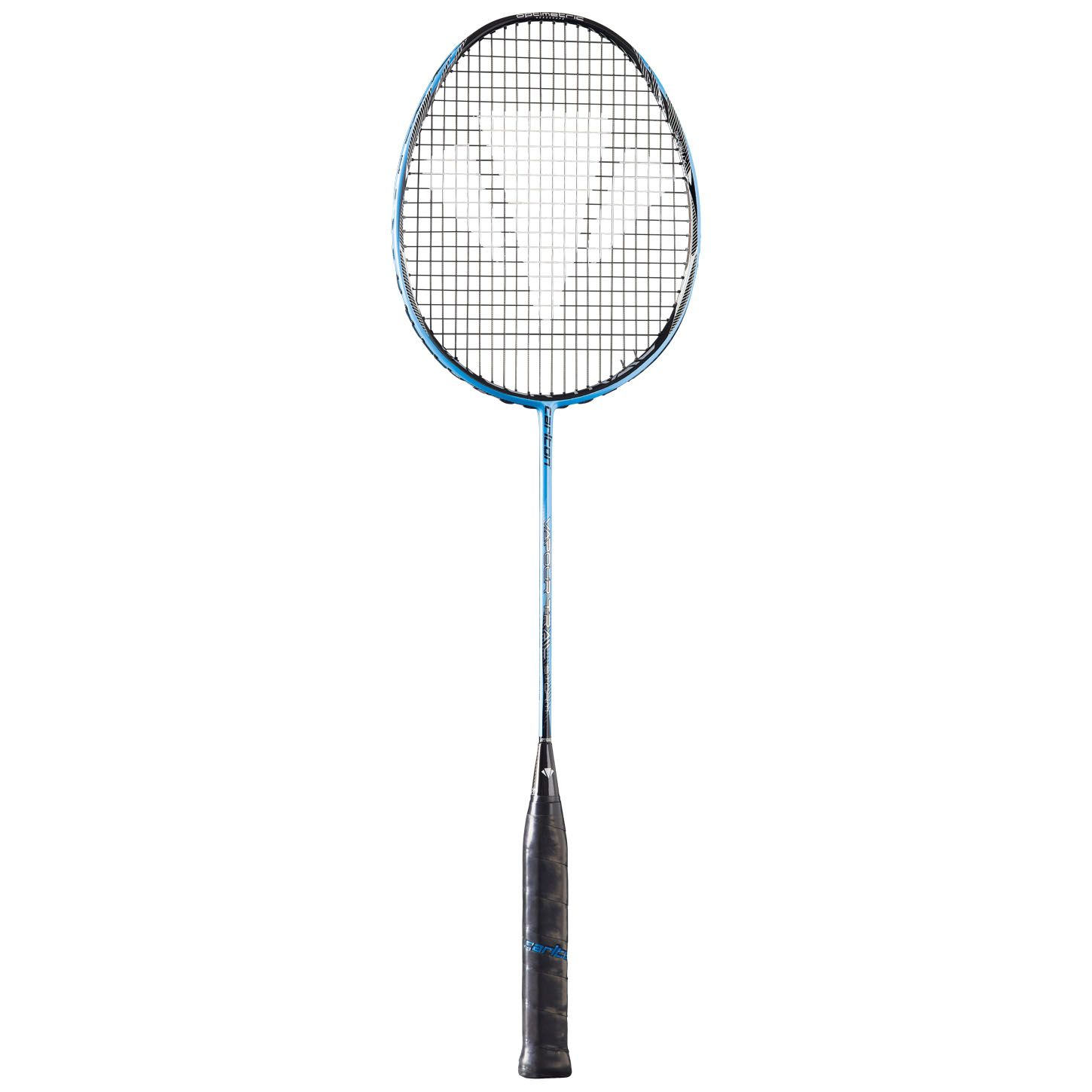 diagram of a badminton racquet