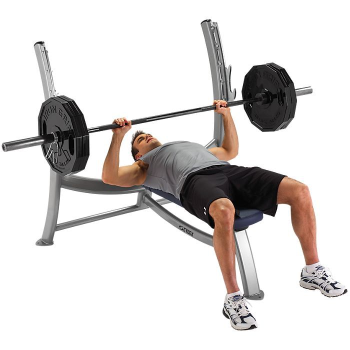 Cybex Free Weights Olympic Bench Press