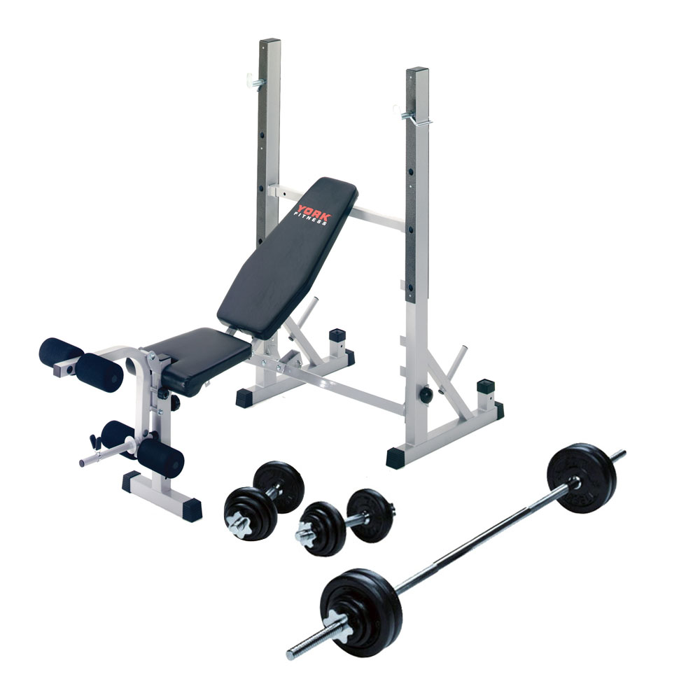 York Weight Bench Exercises