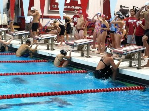 Hoosiers compete for 8 new world records in  LCM and SCM relays.