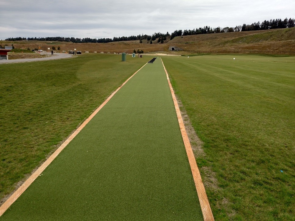 EZTee® Hybrid Plus Installation at Chambers Bay Golf Course | STI