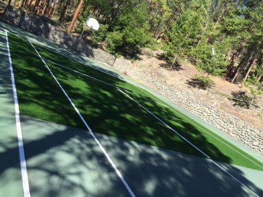 Synthetic Turf Installation Tennis Court