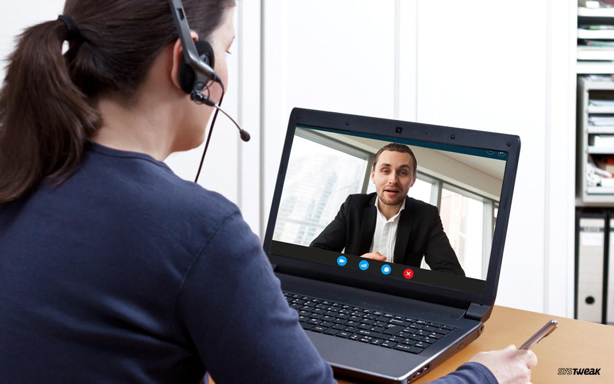 Insta :  10 meilleurs logiciels d'appel vidéo pour PC Windows en 2020 (gratuits et payants)