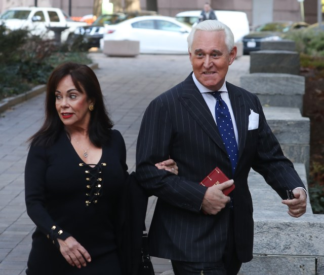 Roger Stone Found Guilty On All Counts Talking Points Memo