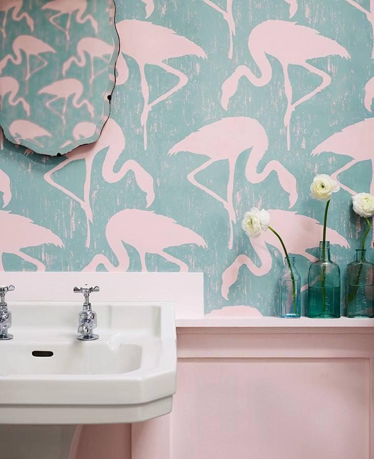 Grazie alla carta da parati per bagno idrorepellente si possono ottenere rivestimenti continui con un valore decorativo senza confronti. Carta Da Parati Per Bagno Idee Per Ridecorare Nuovi Trend