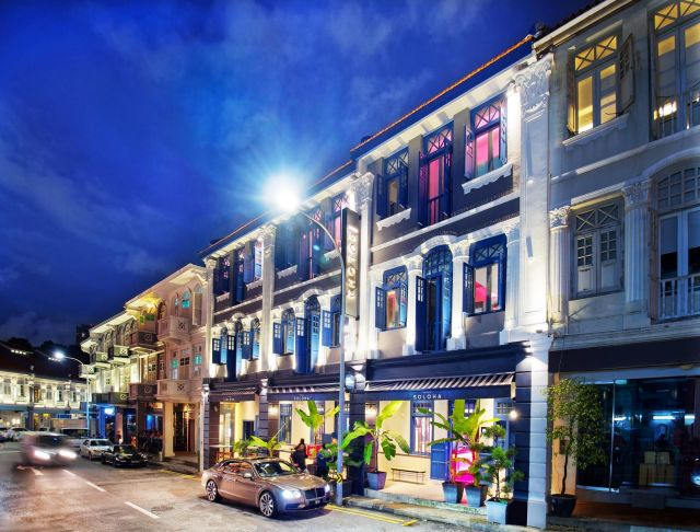 Hotel Soloha Is The Latest Boutique Hotel In (China) Town