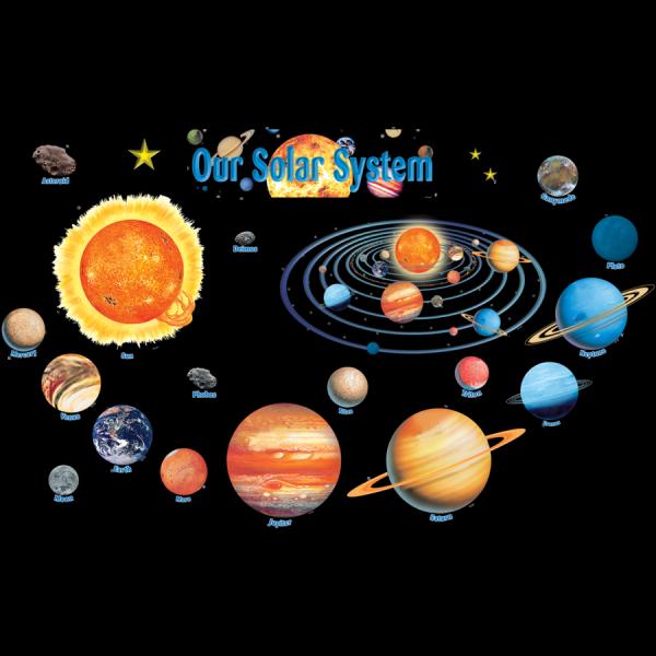 Solar System Bulletin Board Display Set - TCR4057 ...