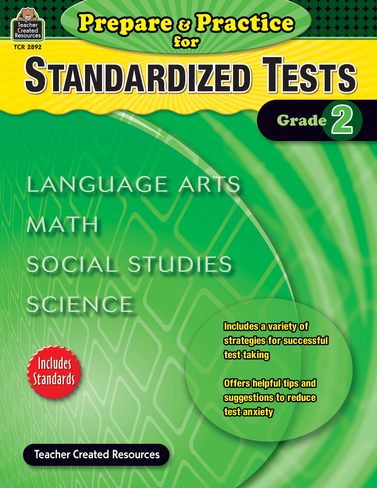 Prepare Amp Practice For Standardized Tests Grade 2