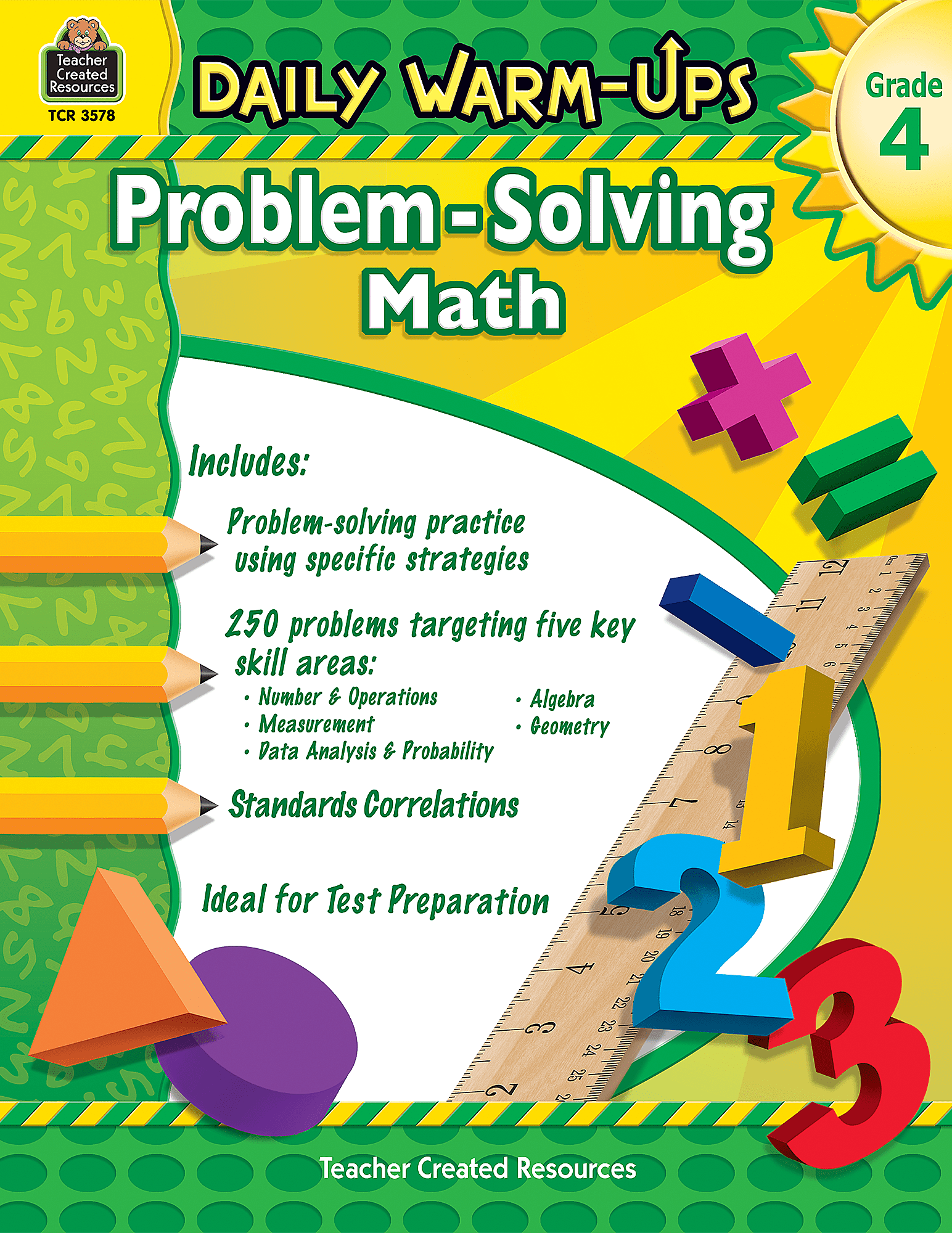 Daily Warm Ups Problem Solving Math Grade 4