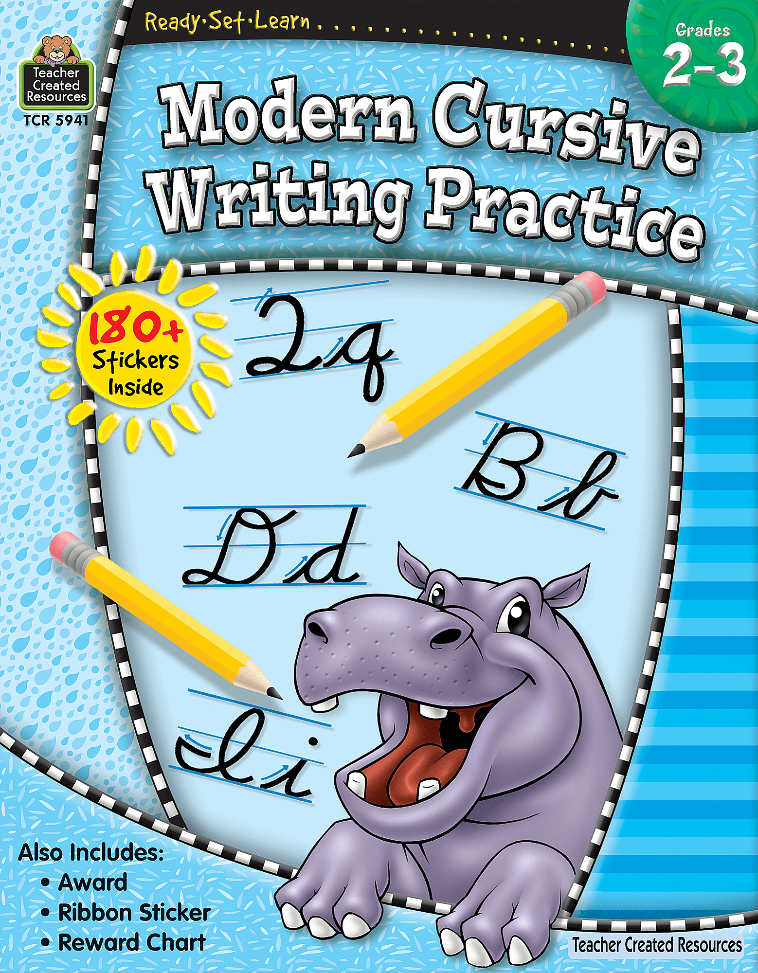 Ready Set Learn Modern Cursive Writing Practice Grade 2 3