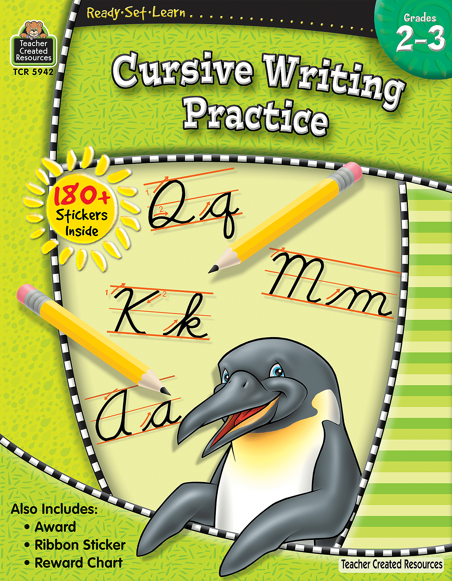 Ready Set Learn Cursive Writing Practice Grade 2 3