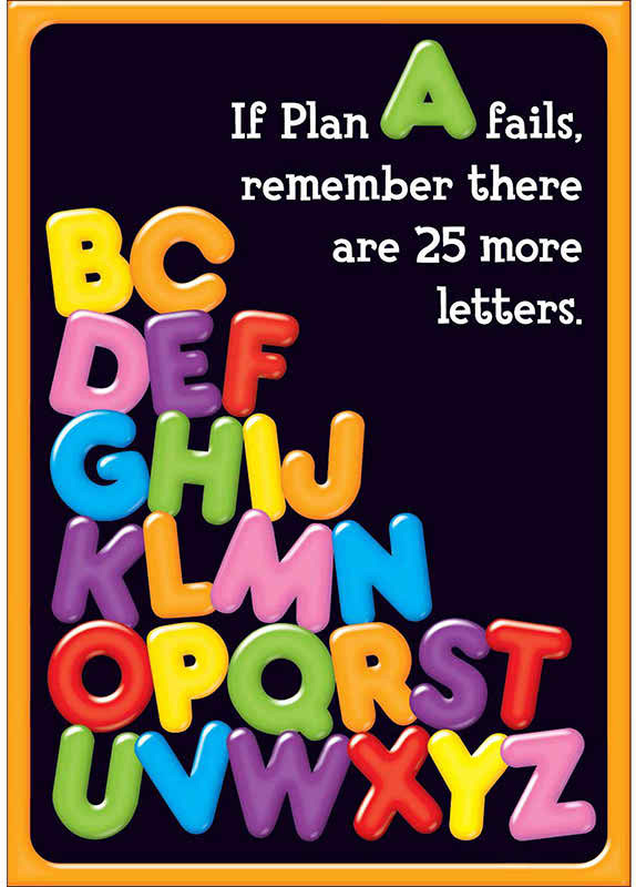 If 25 More There Letters Fails Plan Are