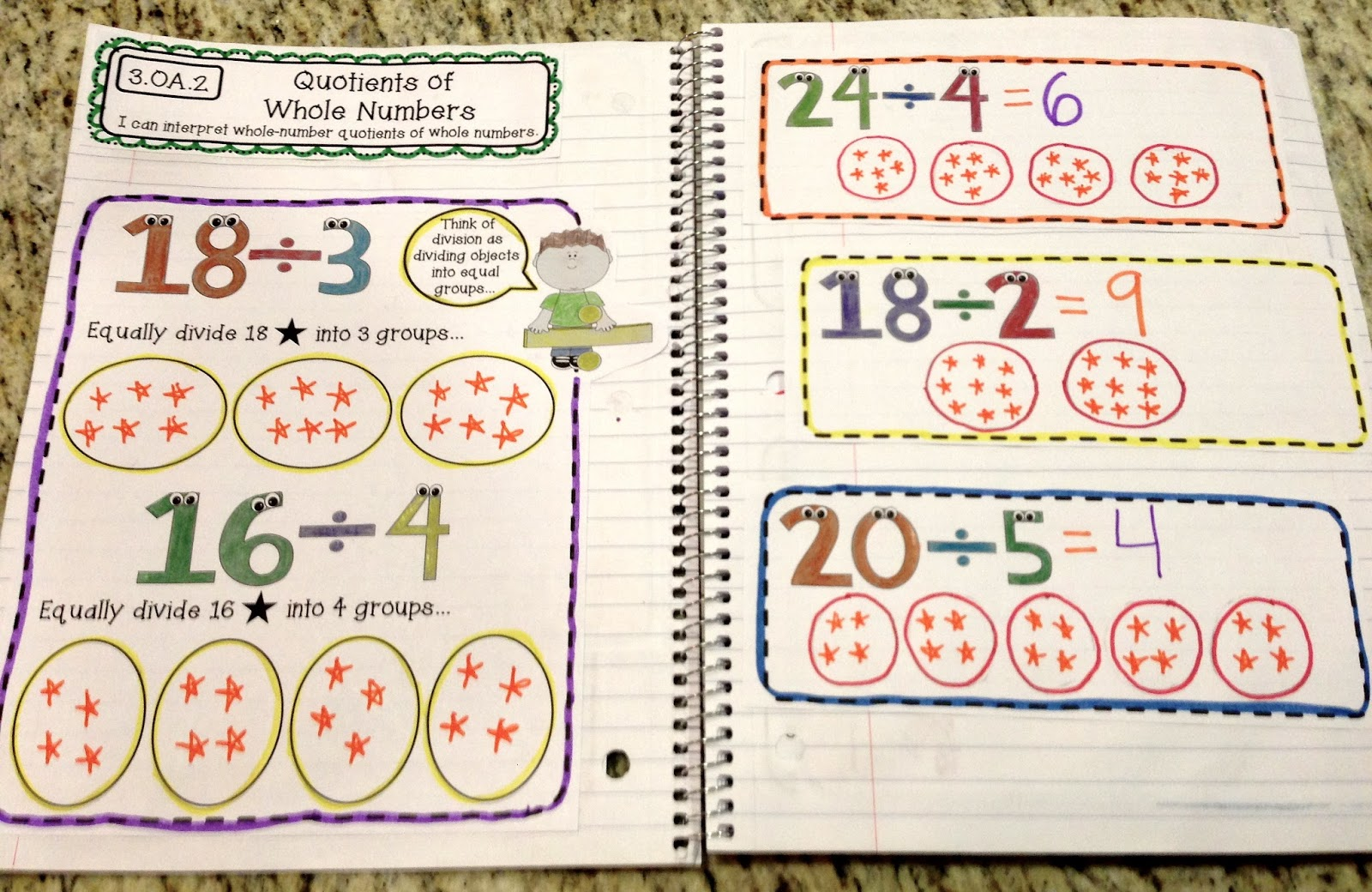 Math Worksheets 3rd Grade Division