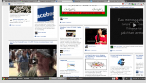 facebook newspaper view of my account