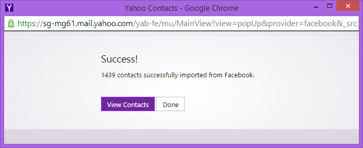 Working] Import Facebook Contacts to Google, Gmail, CSV File