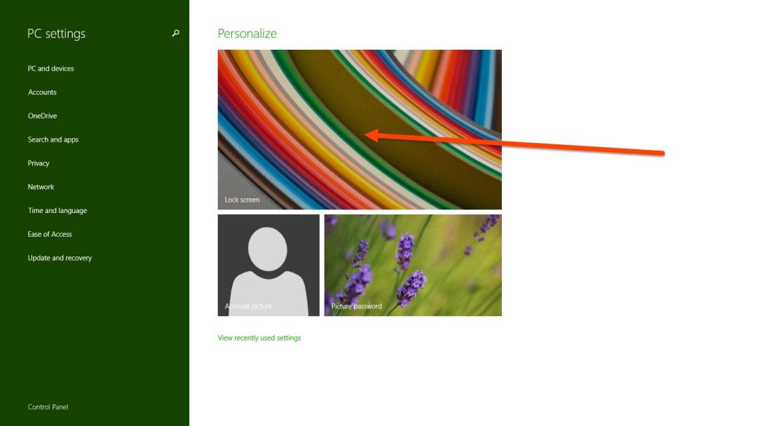 Click Lock Screen