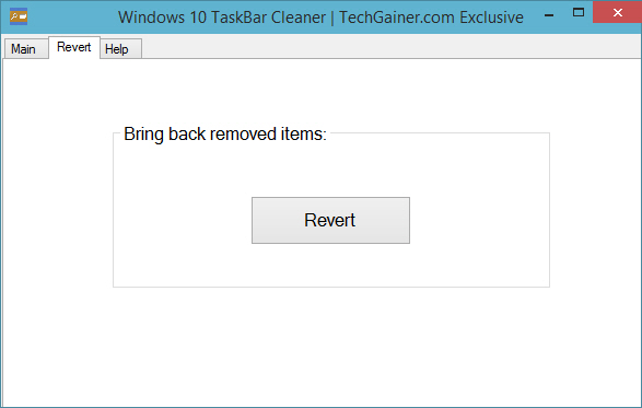 Revert Taskbar buttons