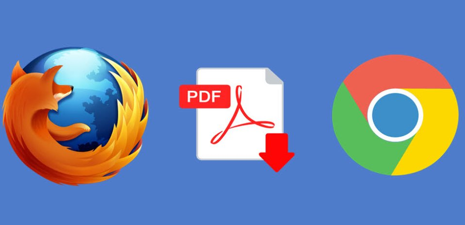 Disable Firefox and Chrome PDF viewer