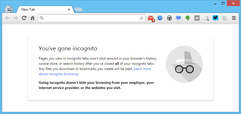 How to Run a Chrome Extension in Incognito Mode