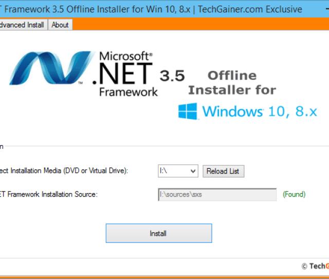Dot Net Framework 3 4 Offline Installer Screenshot