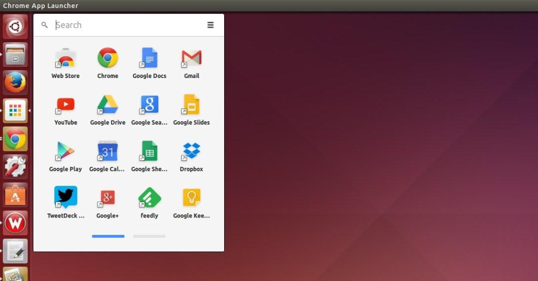 Usin Chrome App Launcher in Ubuntu