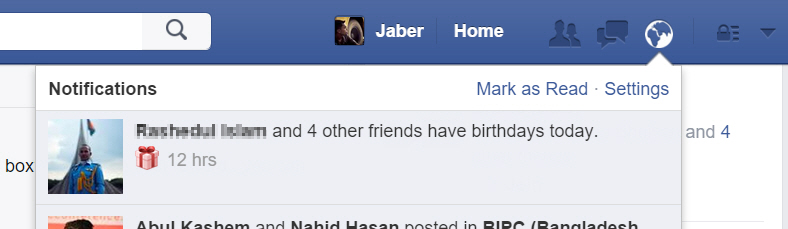 How to Disable Birthday Notifications in Facebook