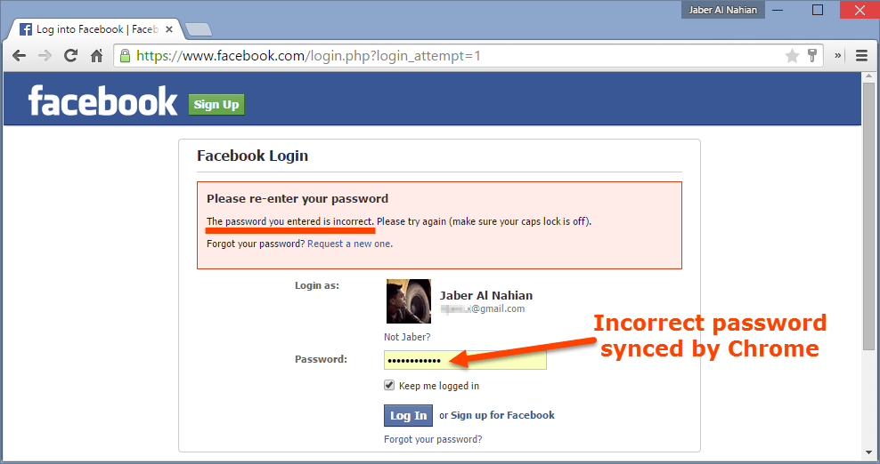 [Fix] Chrome Syncing/Storing Incorrect Passwords and Usernames