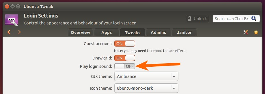 How to Disable or Change Ubuntu Startup Sound at Login Screen