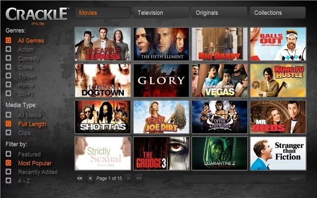 crackle Free HD Movies Direct Download