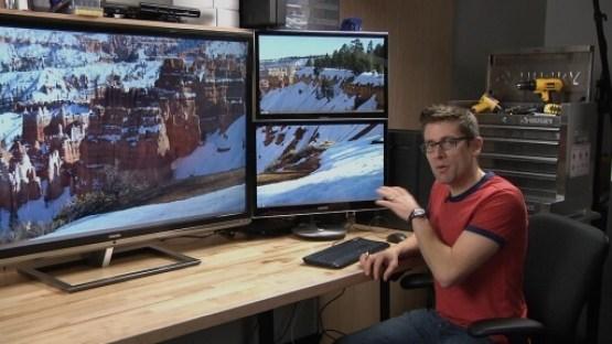 4K computer monitors