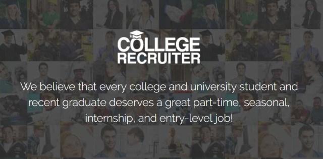 College Recruiter online jobs