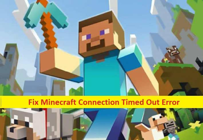 Minecraft-connection timed out error
