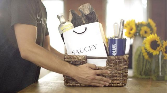 Saucey Food and Liquor Delivery App