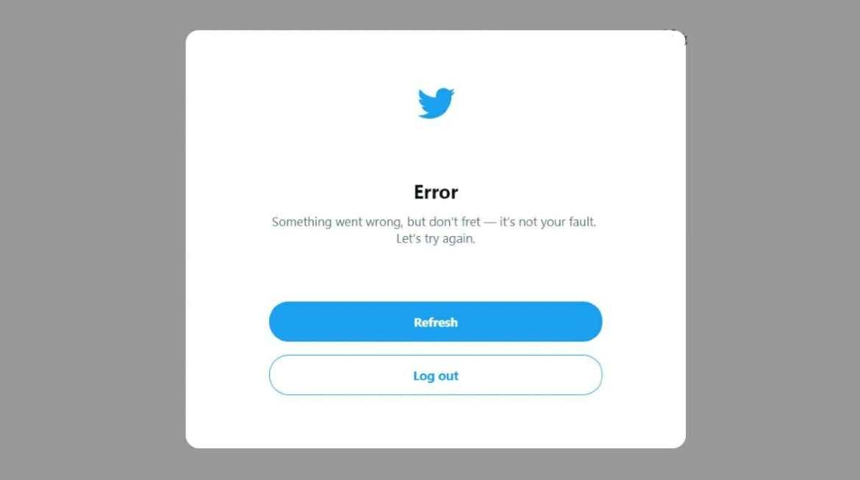 Twitter error - Twitter something went wrong fixed