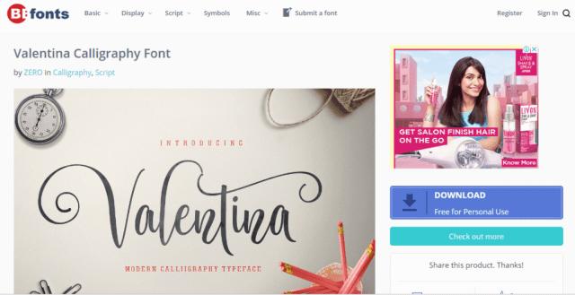 sites like DaFont DaFont alternatives