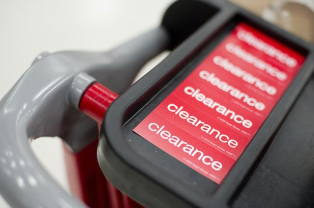 clearance sales save money
