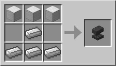 Crea Anvil en Minecraft para reparar el arco en Minecraft