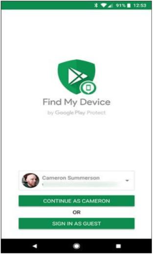 Encuentra mi dispositivo