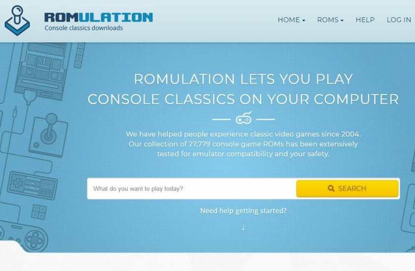 romulation Safe ROM Sites