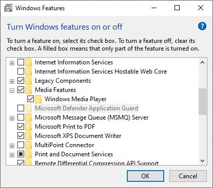 Aplicación de registro de equipos de sintonizador de TV digital de Windows Media Player
