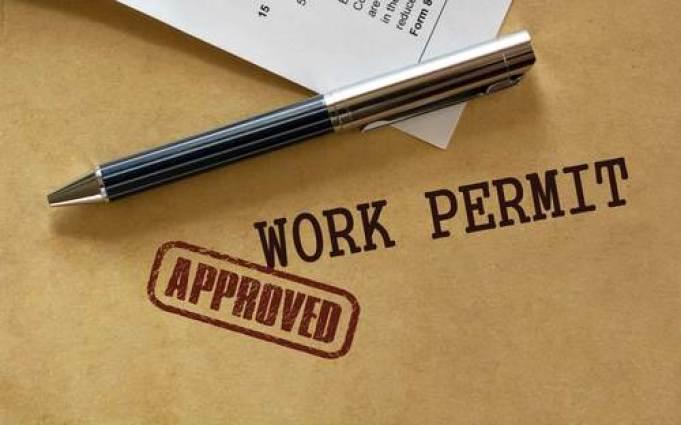 work permit USA VISA