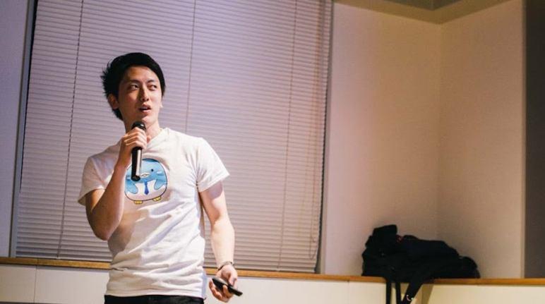 X-bit CEO Kokubo Kosaku.