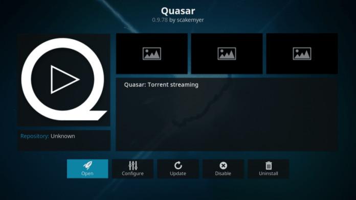 Quasar Kodi addon