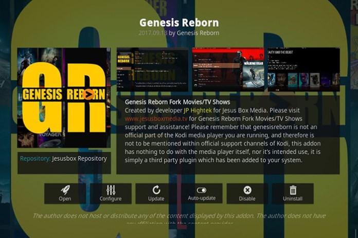 Anime Kodi Addons - Genesis Reborn