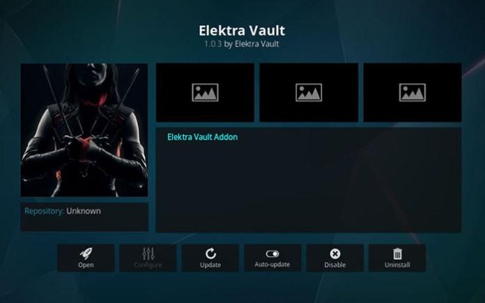 Elektra Vault Kodi Addon - Install 6
