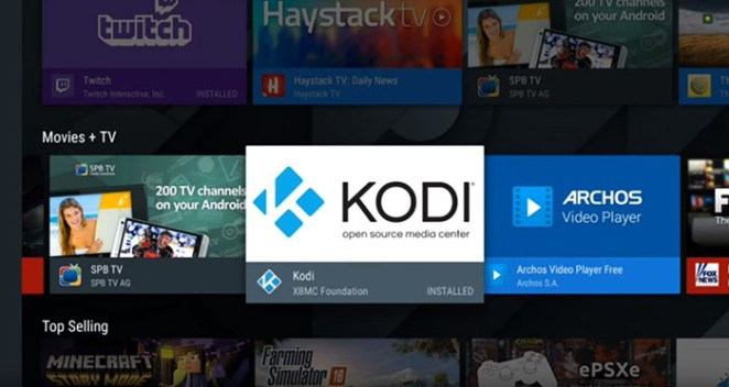 Install Kodi on Android - TV 4