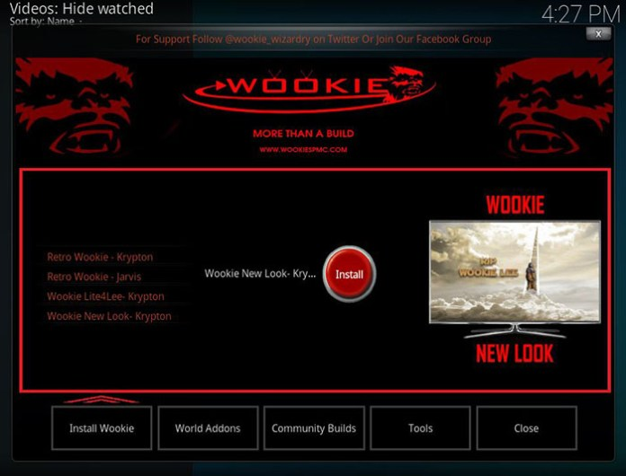 Wookie Kodi Build - 10