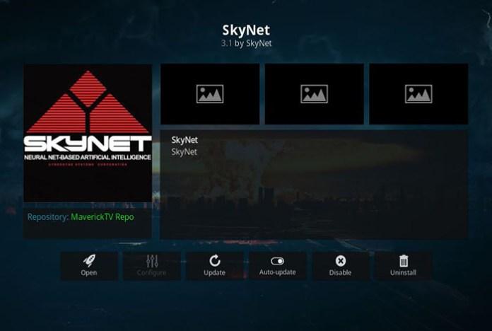 4K Kodi Addons - SkyNet