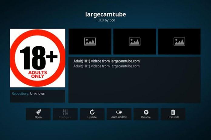 Large Cam Tube